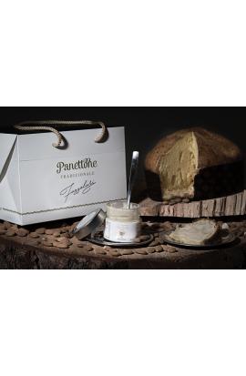 Panettone Pandorato con crema di Finissima Mandorla