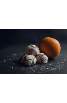 Pasticcini di mandorla all'arancia